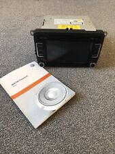 Genuine VW RCD 510 CD Touchscreen Car Radio & Bluetooth Premium 8