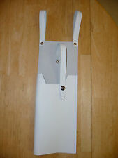 Star Wars White SNOWTROOPER E-11 LEATHER HOLSTER Prop ESB costume fits blaster