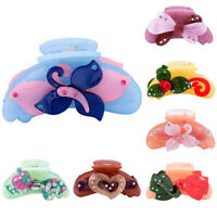 Women Butterfly Hair Claw Clamps Clips Claw Clamp Banana Clip Ponytail Holders z