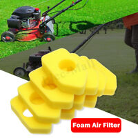 10Pcs Air Filter Yellow Foam For Briggs & Stratton 698369 4216 5088 490-200-0011