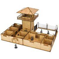 The Walking Dead The Prison Scenery Set All Out War Mantic Game Zaun Gefängnis