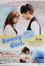 SUNNY GIRL TAIWANESE TELEVISION DRAMA POSTER - Wu Chun, Rainie Yang