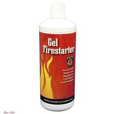 Fire Starter Gel Fireplace Accessories Ethanol Wood Pellet Corn Coal Stoves New