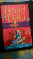 Roald Dahl The Magic Finger - Illustrated by Quentin Blake