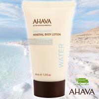 ⭐️⭐️⭐️⭐️⭐️ AHAVA Dead Sea Water Mineral Body Lotion 40 ml 1.3 fl. oz Travel Size