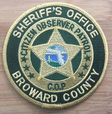 BSO - Broward County Sheriff's Office COP - Genuine *Kokopelli Patch*