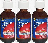 Camphor Spirit SUNMARK 2oz  ( 3 pack )