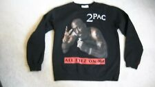 Vintage Style 2Pac All Eyes On Me Crewneck Sweatshirt Tupac Shakur NWOT
