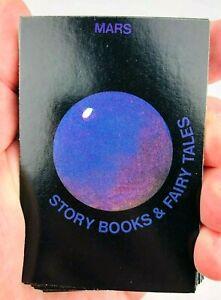 1983 Pressman Trivia Adventure Mars Special Category Cards Books Complete *Tk3