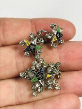 Order of the Eastern Star TALFA earrings brooch pin pinback studs