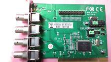 A072704-A1 DVR CARD PCI 4 CHANNEL WA143NG00010H V 3.0 CAPTURE  WA143NG00010H-V3