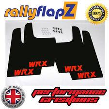 rallyflapZ SUBARU IMPREZA WRX STi Universal (Version 1) Black WRX Red 3mm PVC