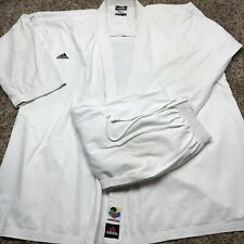 Adidas Karate Master Karate Gi Poly/Cotton WKF Approved Size A3 Mens