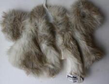 Faux Fur Coat Fancy Furs For Dolls-Teddy Bears Adorable w-Tie-Label-Very Nice