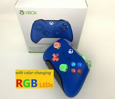 Limited Edition Blue Camo Xbox One Controller w LED MOD iPhone Android PC