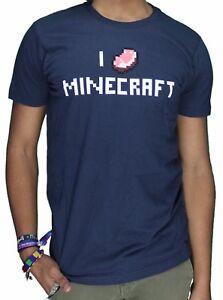 Minecraft T-Shirt Men's  Medium