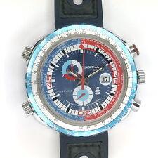 SORNA by Breitling VINTAGE Chrono Worldtimer GMT KULTUHR  aus den 1970er Jahren