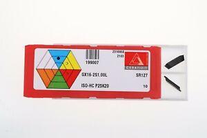 Wendeschneidplatten GX09 / GX16 / GX24 Ceratizit