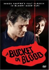 A Bucket of Blood DVD Movie- Brand New & Sealed- Fast Ship /OD-231