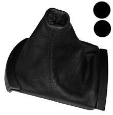 Funda para palanca de cambios Piel genuina para Seat Ibiza 6L 2002-2008, Negro