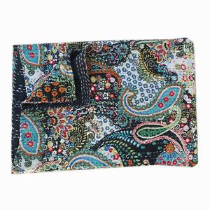 Queen Kantha Quilt Bedspread Throw Cotton Blanket Paisley Print Indian Handmade