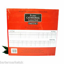 COLLINS Cathedral Analysis Book 150 series 150/1/14.1 Petty Cash Accounts Book