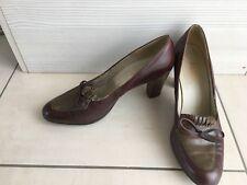 Chaussures bally en cuir marron t 39 ( 7D)