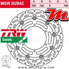Disque de frein Avant TRW Lucas MSW 262 RAC Yamaha MT-01 1670 (RP12) 2005