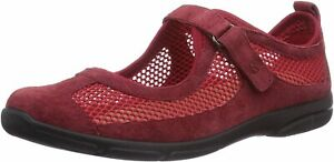 Romika Traveler 02 Ladies Leather Mary Jane Casual Shoes Red