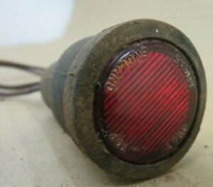JAGUAR ASTON MARTIN DBS DB6 FERRARI JENSON  L750 DOOR PUDDLE WARNING LIGHT RED