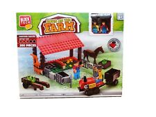 Block Tech Down On The Farm Farmyard Harvest 200 Pieces -Children's Construction
