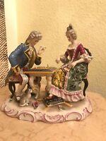 Antique Victorian German Dresden Volkstedt Rudolstadt Meissen Porcelain Figure