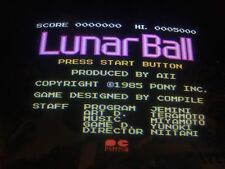 Nintendo Playchoice 10 Lunar Ball Cart Pc-10