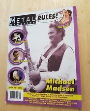 Metal Rules Zine Michael Madsen Lita Ford Doro Pesch Annihilator Joe Lynn Turner