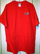 NEW Gildan Red Large National Corvette Restorers Society ( NCRS ) T-Shirts