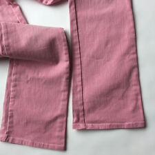 Womens Armani Exchange Pink Straight Leg Jeans Size 4