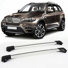 Marvelous Aluminum Roof Rack T Slot Raised Rail Cross Bar Carrier For 2004 2010 BMW