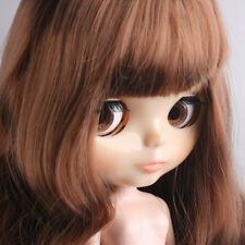 """[LF] Shiny Face 12"""" Doll 1/6 Doll 7 Combined With Bare Doll And Brown Long"""