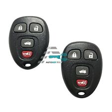 Replacement for Buick Allure Lacrosse Chevy Cobalt Malibu Remote Key Fob 4b Pair