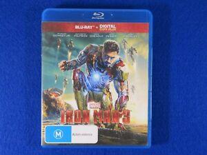 Iron Man 3 - Blu Ray - Free Postage !!