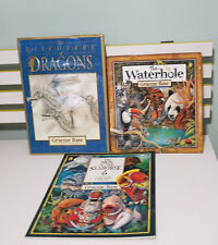 KIDS BOOKS GRAEME BASE DISCOVERY OF DRAGONS WATERHOLE SIGN OF THE SEAHORSE!
