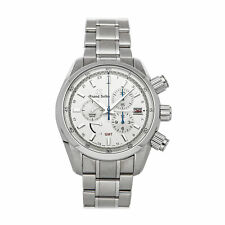 Grand Seiko Sport Collection Spring Drive Chrono Steel Mens Watch Date SBGC201