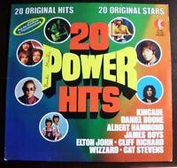20 Power Hits (1973) Elton John, Cliff Richard, Kincade, Free, Deep Purpl.. [LP]