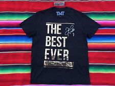 Floyd Mayweather THE BEST EVER TMT Official 1st Edition Limited t shirt L NWOT