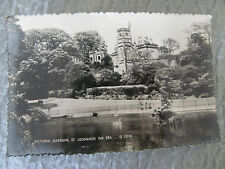 Postcard, Victoria Gardens, St Leonards on Sea, 1963, Norman