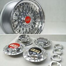 BBS RM Hex Nuts Kits Centerlock Center Cap Plates 15 Inch 4x100 VW Bmw CUSTOM