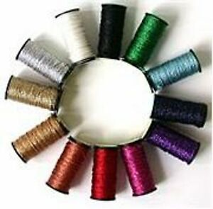 Kreinik Fine #8 Braid - 3 SPOOLS - YOU CHOOSE COLORS
