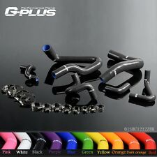 3-PLY Silicone Radiator Hose Kit For 1986-1993 Mustang GT LX Cobra 5.0
