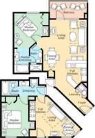 Wyndham Resort Nashville, 2 BR Deluxe Lockoff 2 nts Jun 1-3