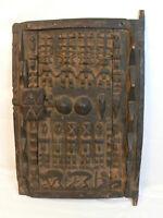 Dogon Türe Korn, Getreide Speicher Hirsespeicher Afrika Mali Holz Schloß Figur